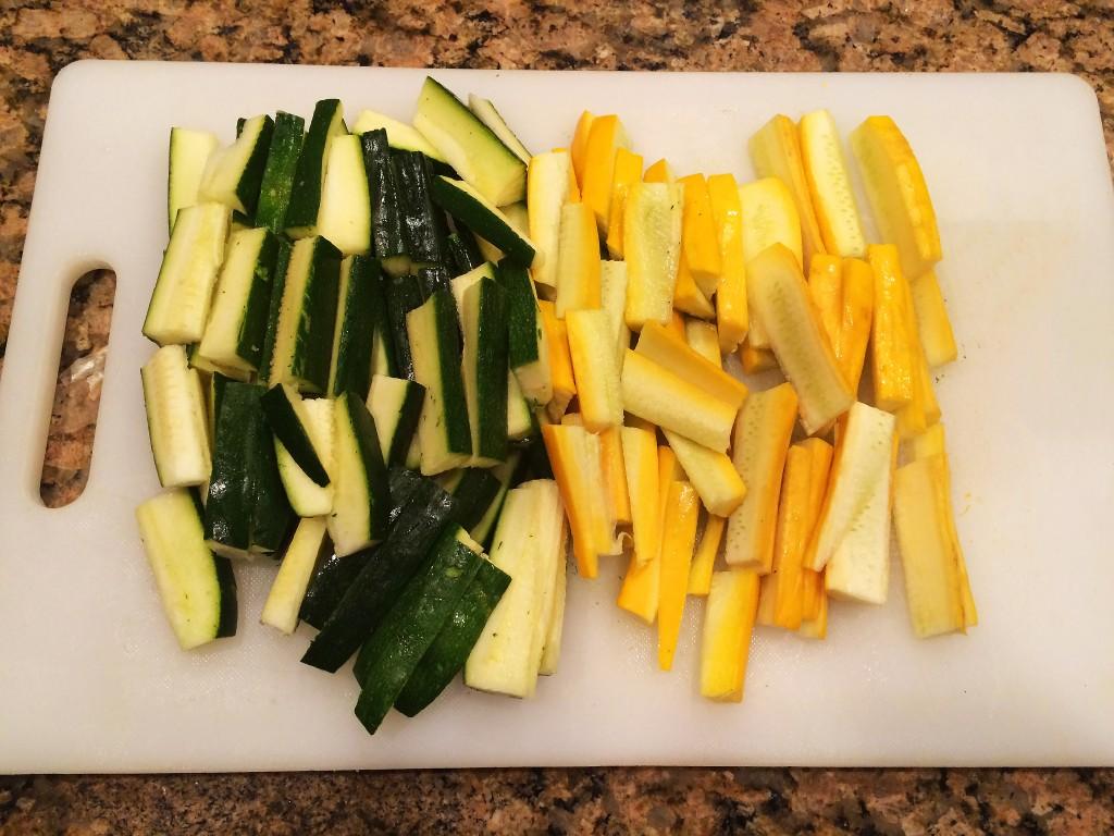 Chop Zucchini