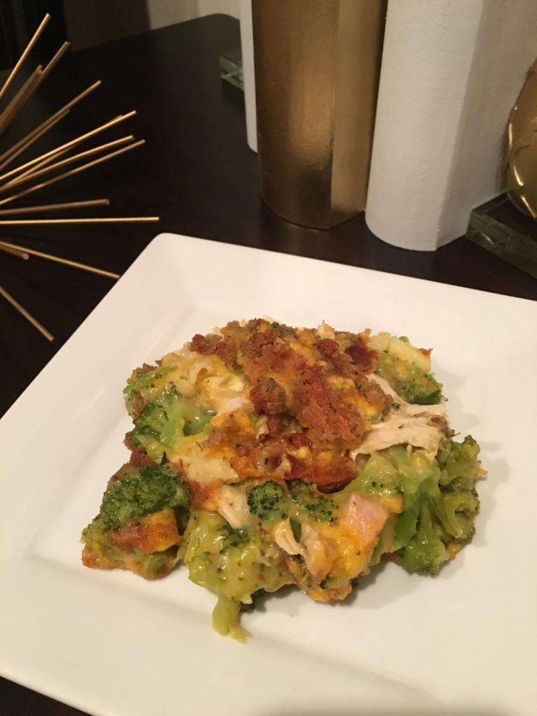 Broccoli Chicken Divan Pasta