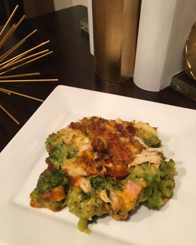 Broccoli Chicken Divan Pasta