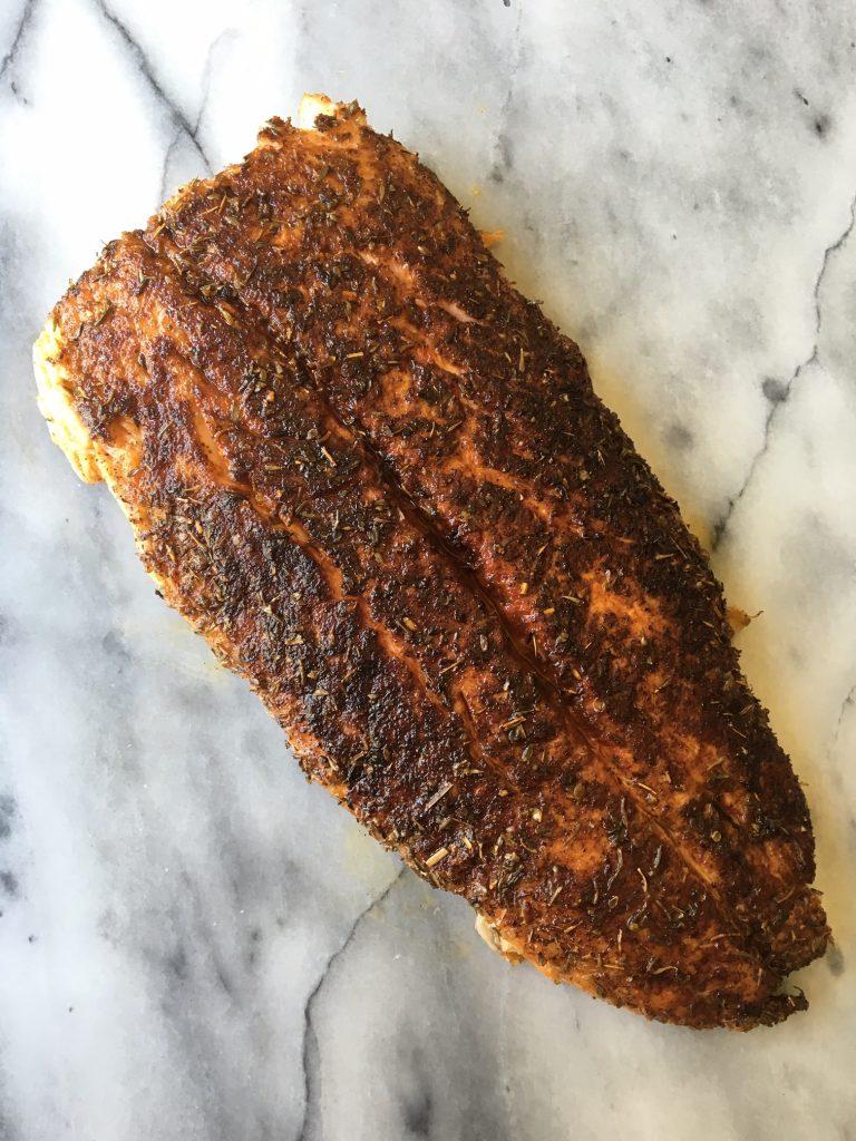 Blackened Salmon 2