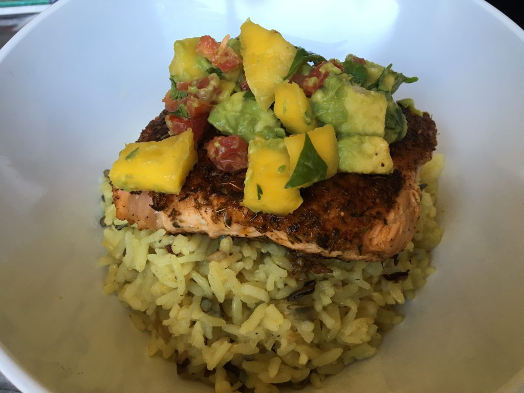 Blackened Salmon 6